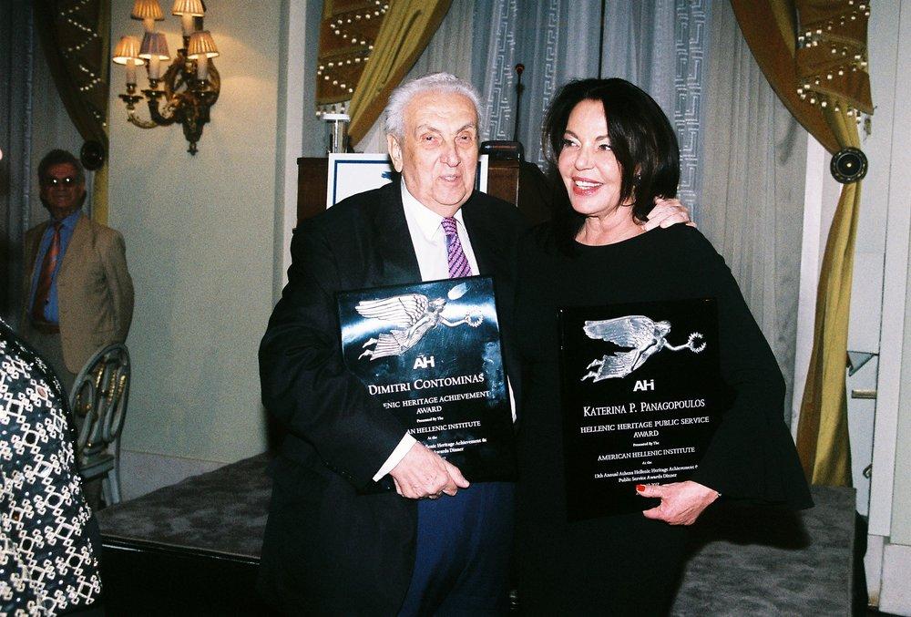 Dimitri Contominas and Katerina P. Panagopoulos