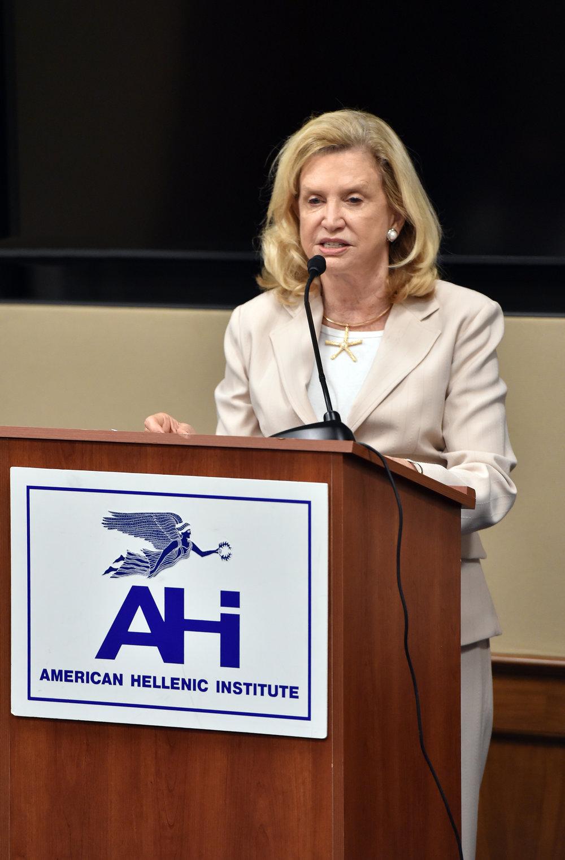 Congresswoman Carolyn Maloney (D-NY).
