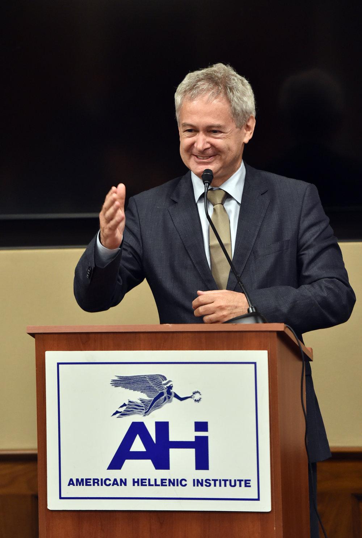 Ambassador Andreas Mavroyiannis.