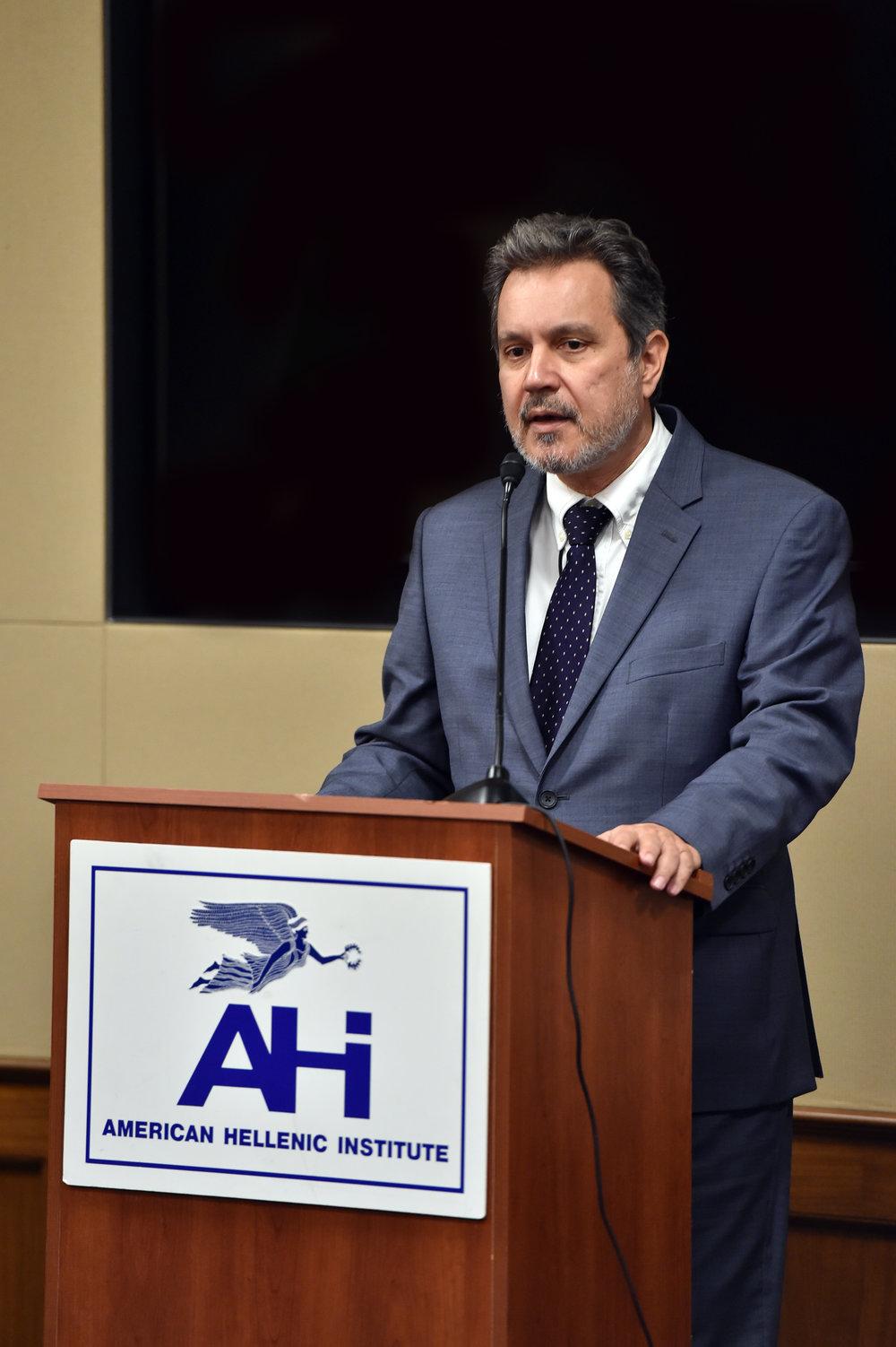 Ambassador Haris Lalacos.