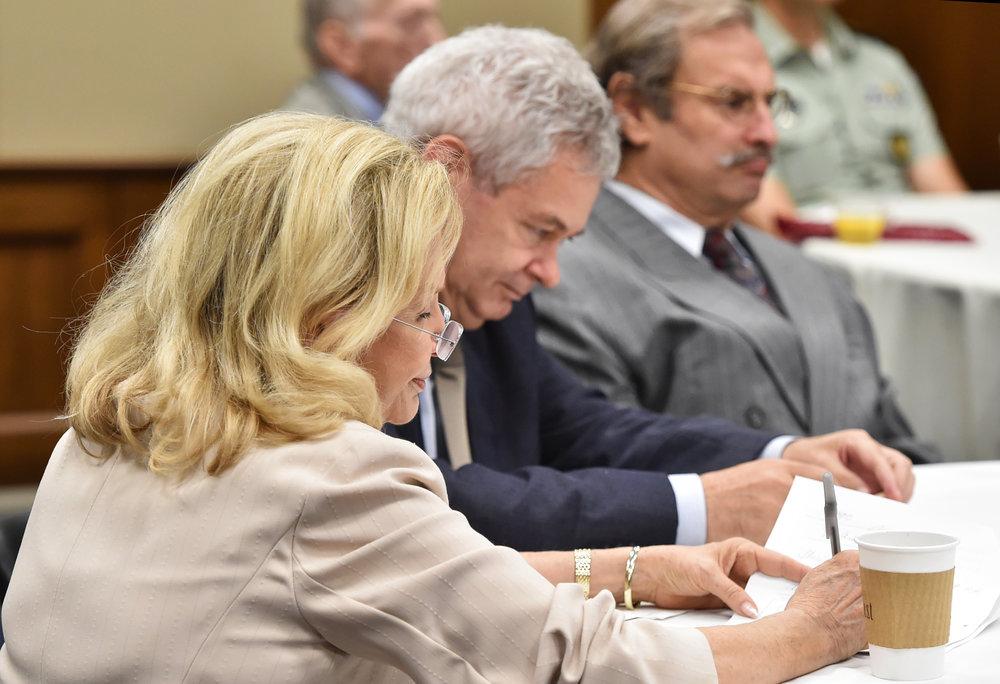 Congresswoman Maloney, Ambassador Mavroyiannis and Nick Karambelas.
