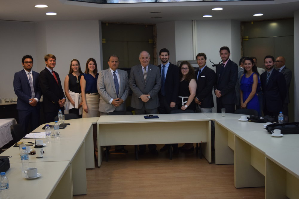 Deputy Foreign Minister Terens Quick engages students on how to keep the young diaspora connected to Greece.