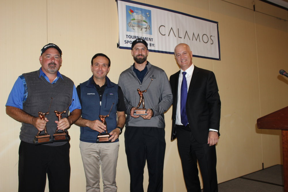 3rd Place Finishers: George Sifakis, Peter Marketos, Leif Ackerman & Mike Magner.