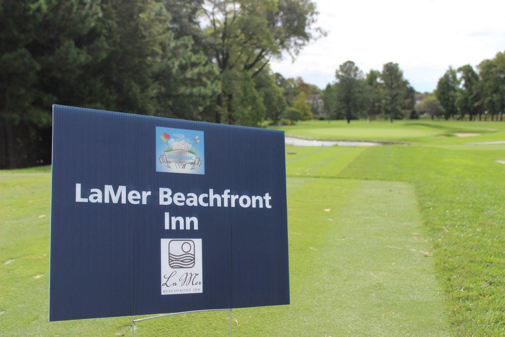 Hole Sponsor, LaMer Beachfront Inn.