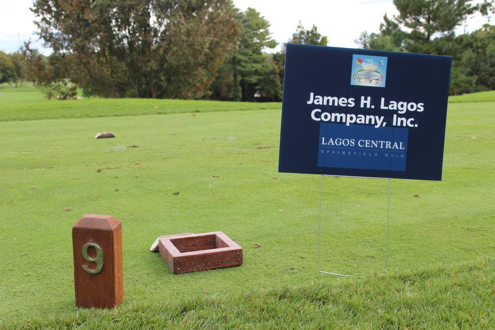 Hole Sponsor, James H. Lagos Company, Inc.