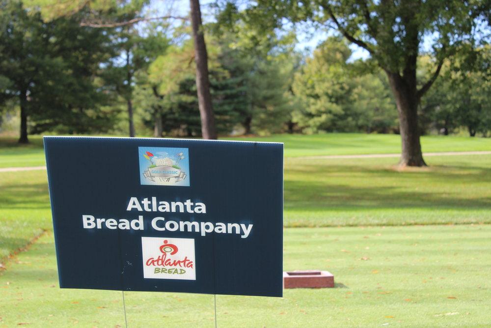 Hole Sponsor, Atlanta Bread Company.
