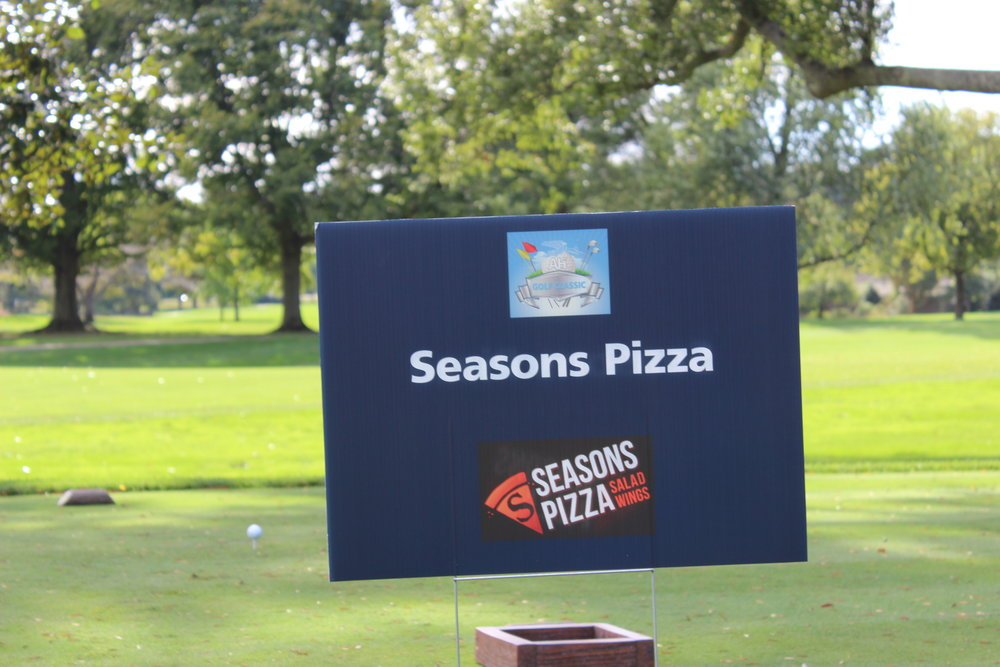Hole Sponsor, Seasons Pizza.