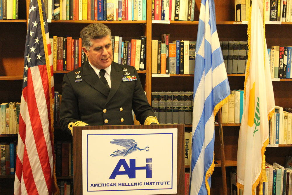 Vice Admiral Tsounis discusses the strategic importance and success of the Greek Navy.