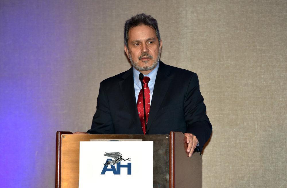 Ambassador Haris Lalacos, Greek Ambassador to the United States.