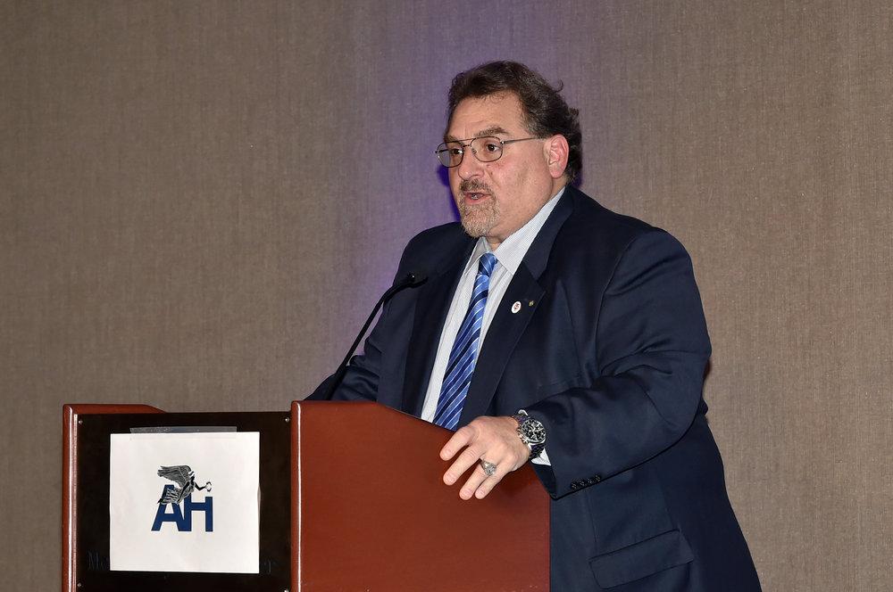 Basil Mossaidis, Executive Director, Order of AHEPA.
