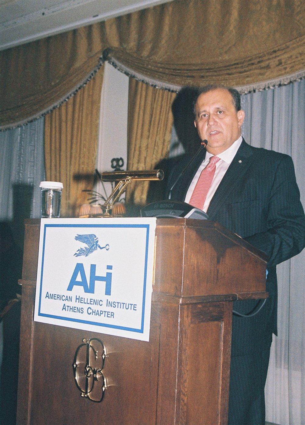 Nick Larigakis, President of AHI.