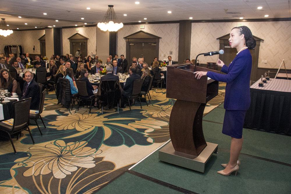Congresswoman Lisa Blunt Rochester (D-DE).