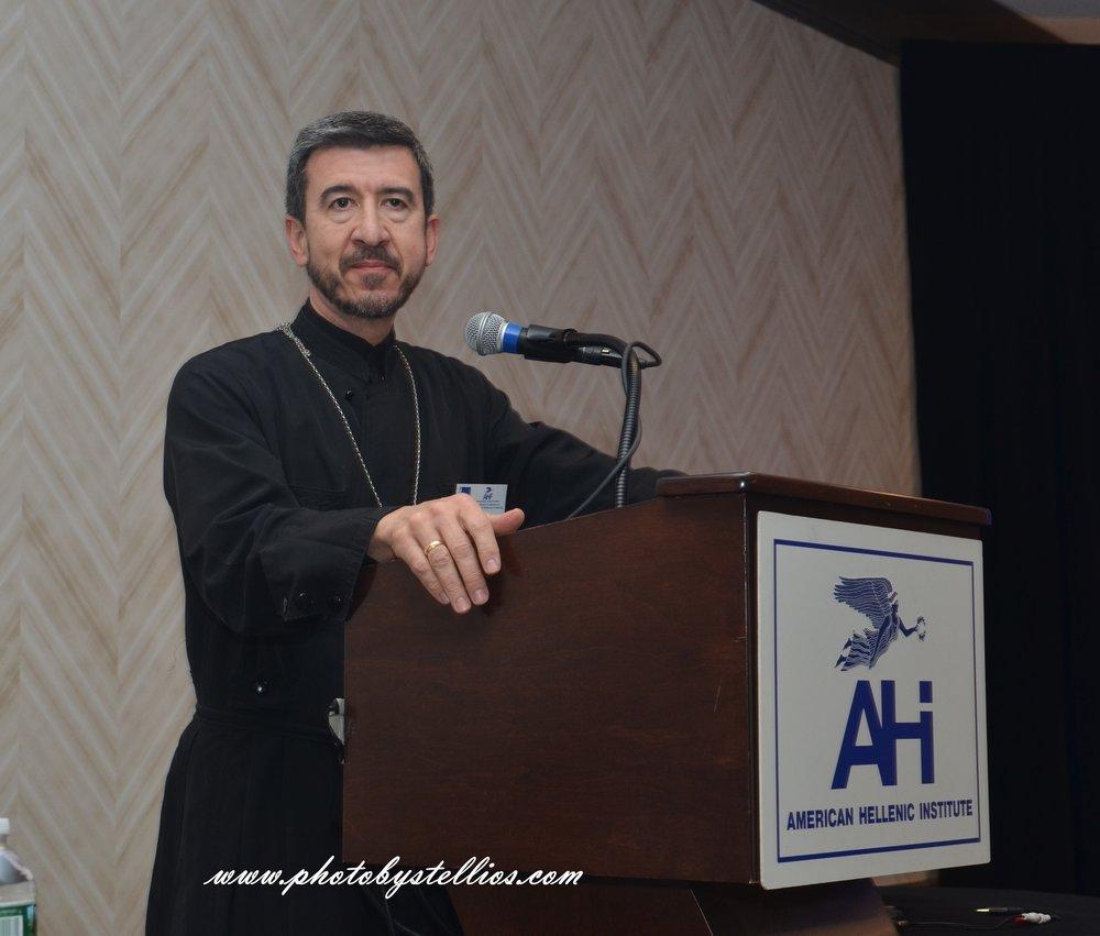 Reverend John Touloumas.