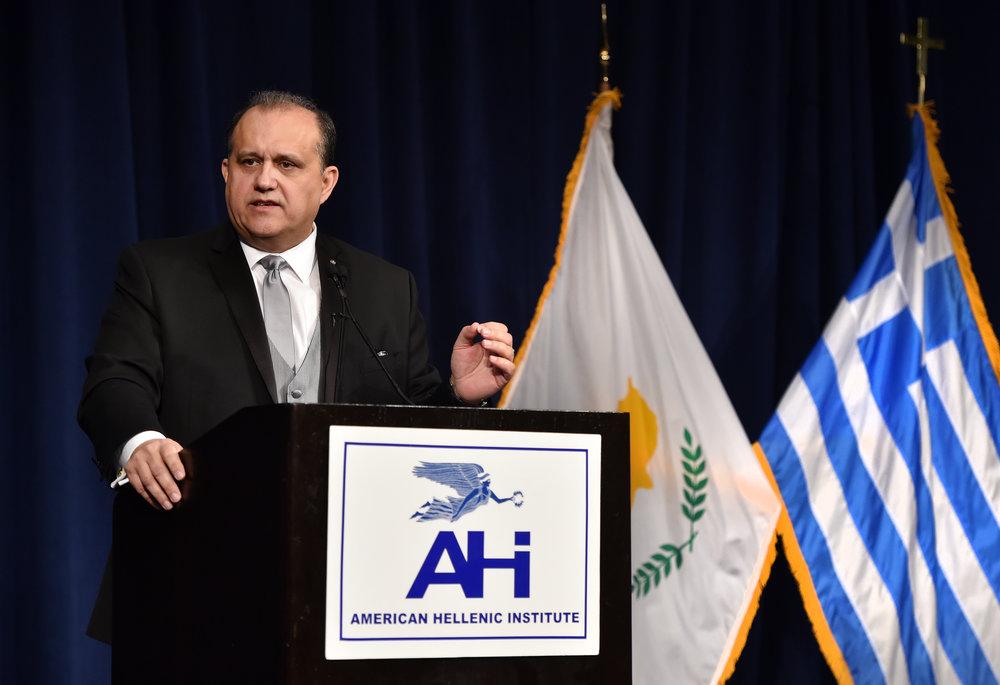 Nick Larigakis, President of AHI
