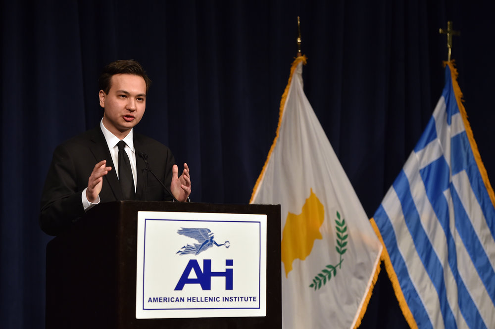 Elias Gerasoulis describes his experience during the AHI Foundation Foreign Policy Student Trip.