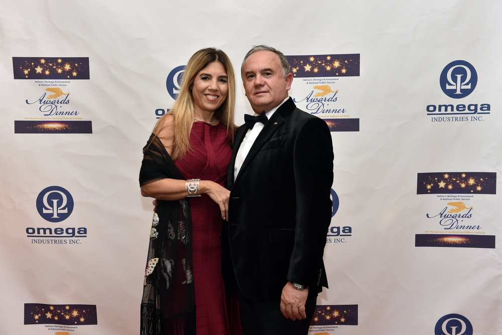 Dimitri and Georgia Halakos.
