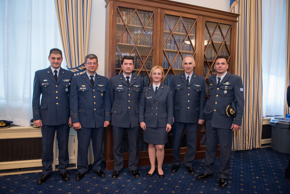 Members of the Hellenic Armed Forces.