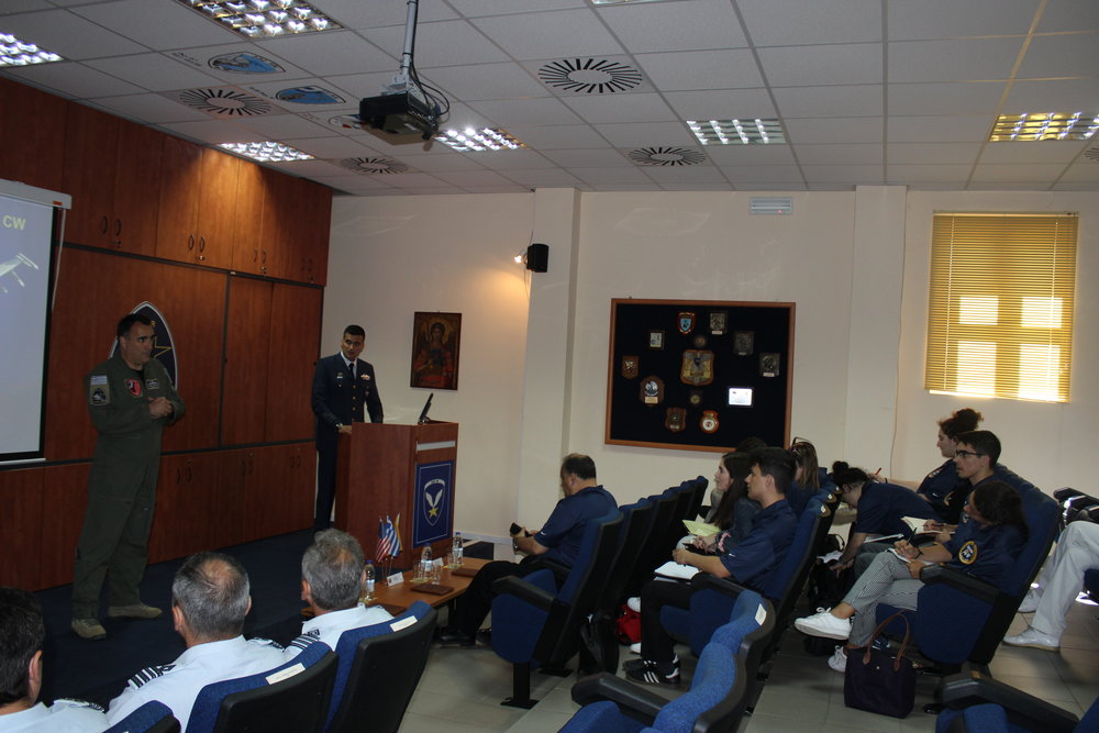 Briefing on the 115th Combat Wing of the Hellenic Air Force.