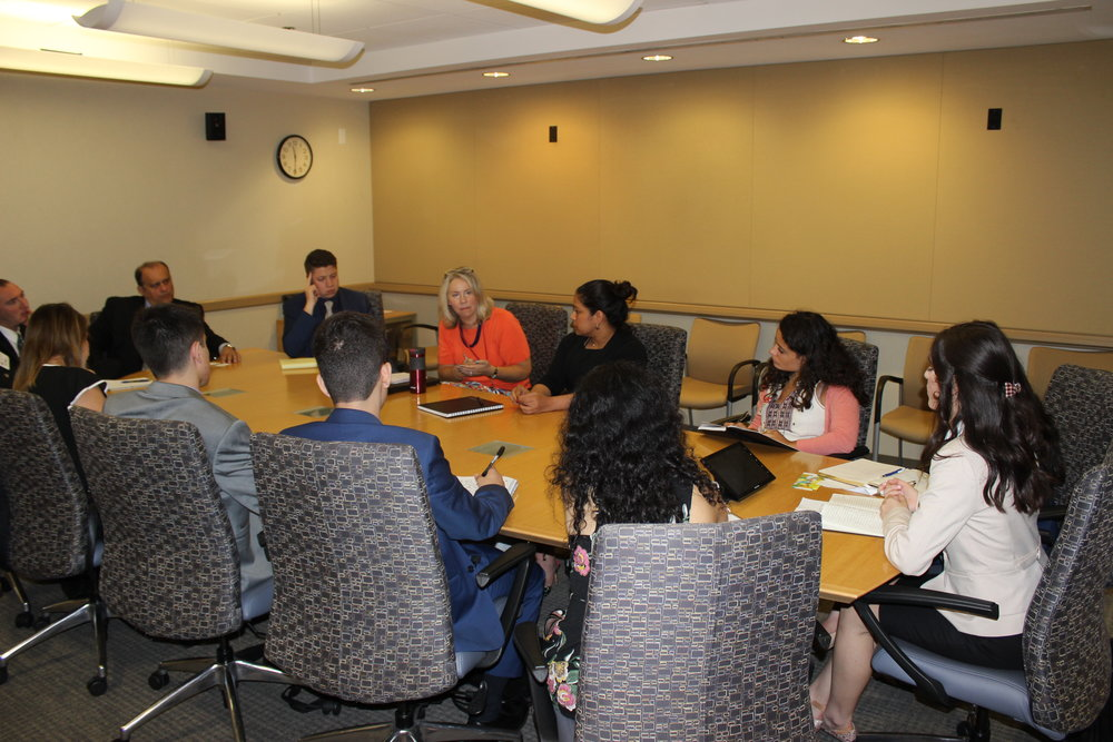 State Department briefing by Diviya Sharma, Cyprus desk officer and Angela Gemza, public diplomacy desk officer.