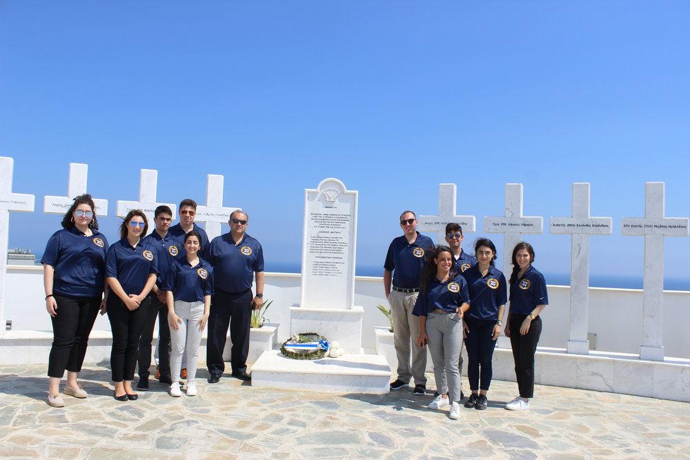 Evangelos Florakis Naval Base, Mari, Cyprus.