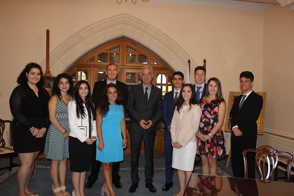 Meeting with Prodomos Prodromou, Government Spokesman.