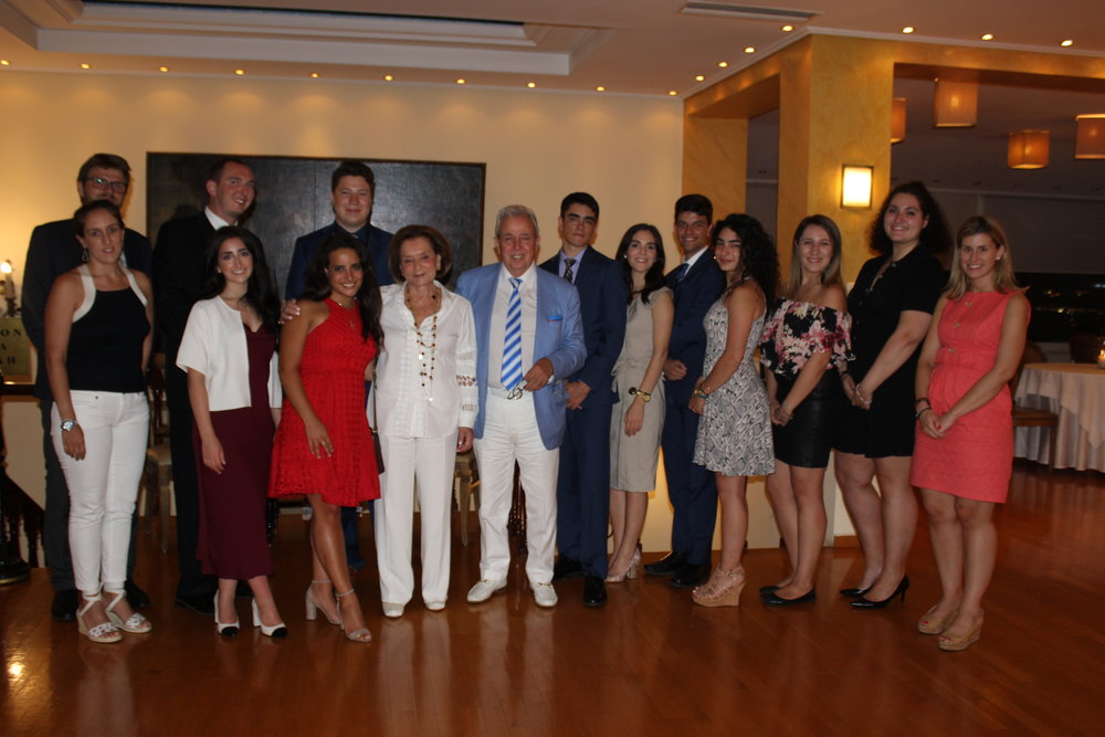 Dinner hosted by AHI Athens President, George Economou at the Athens Club.