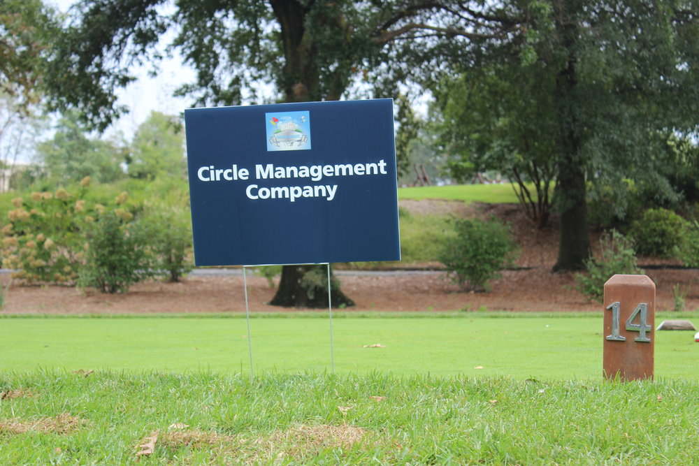 Circle Management Company, Hole Sponsor.