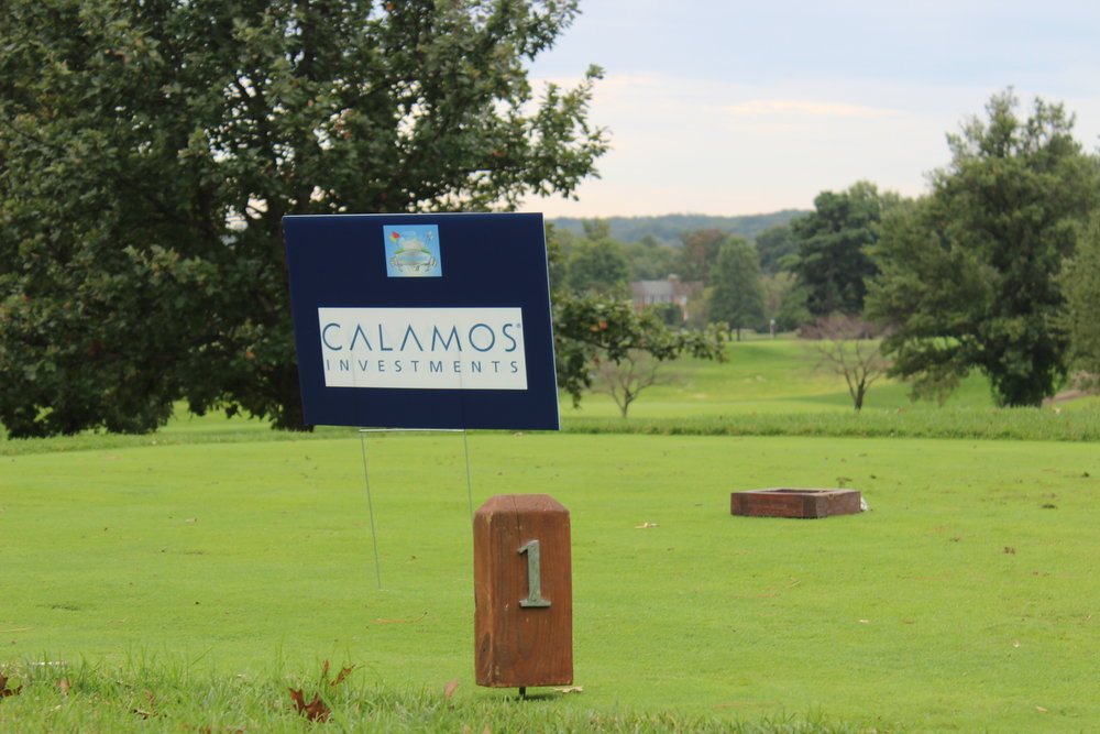 Calamos Investments, Tournament Sponsor.