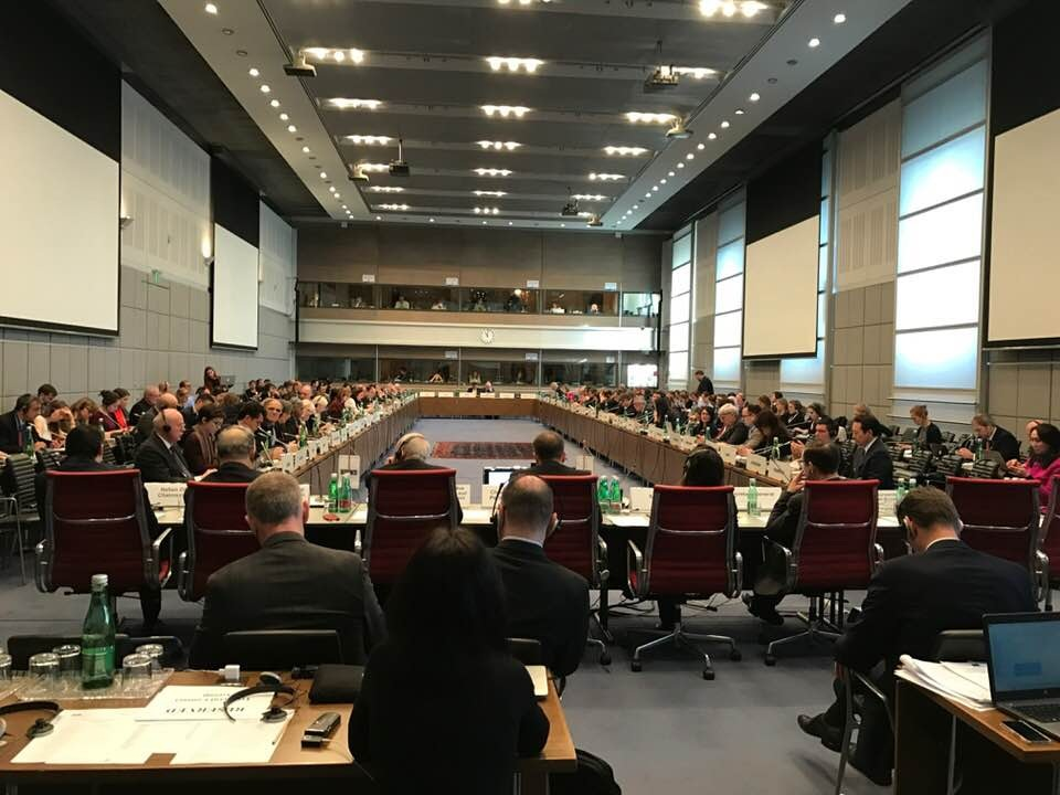 G.A. OSCE Discussing Ukraine