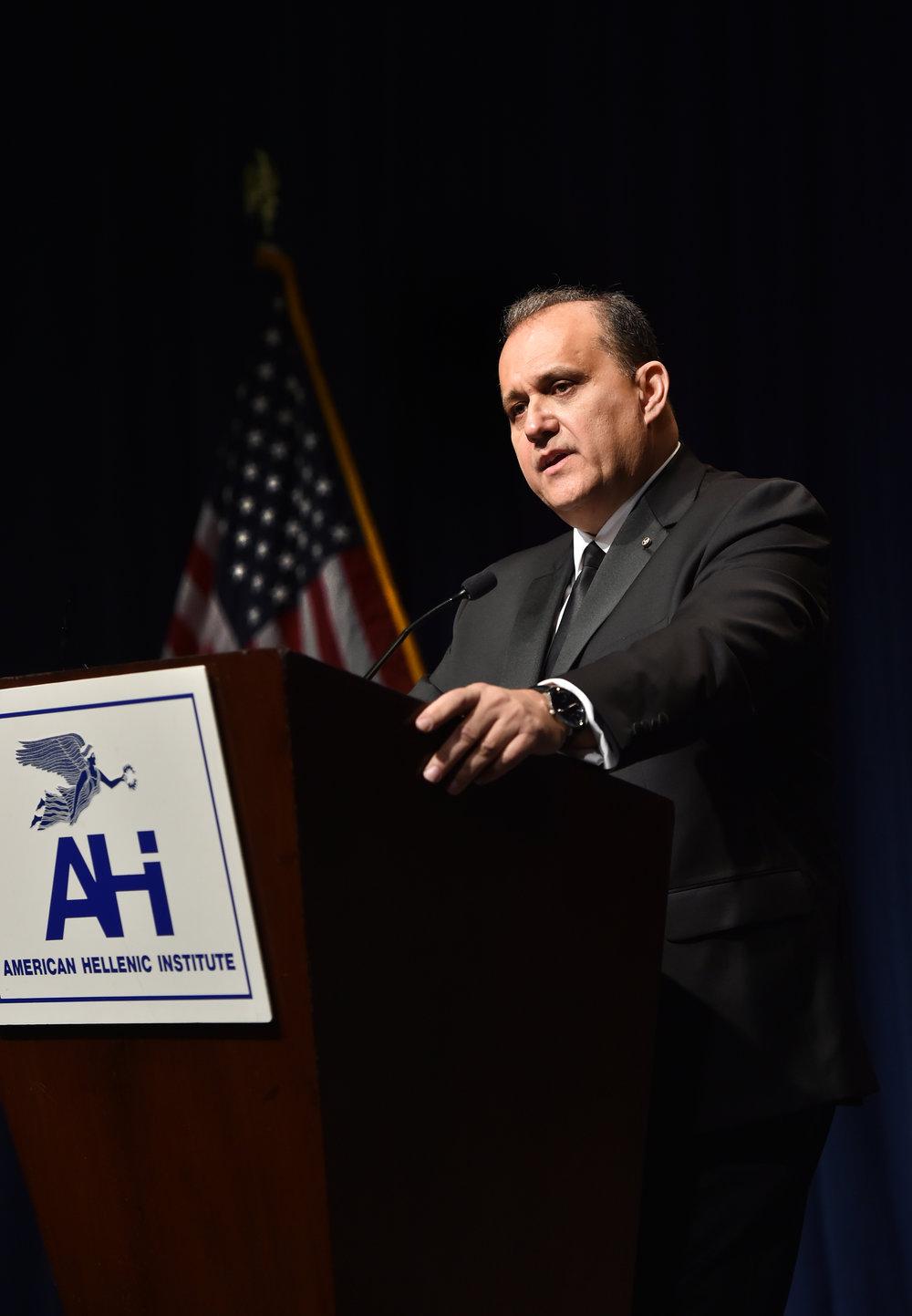 AHI President, Nick Larigakis