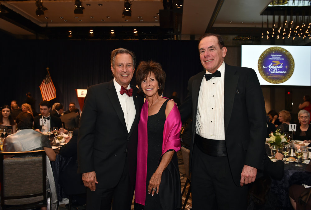 AHI Board Member Leon Andris with his wife Robyn and David Short, Assistant Secretary of Transportation