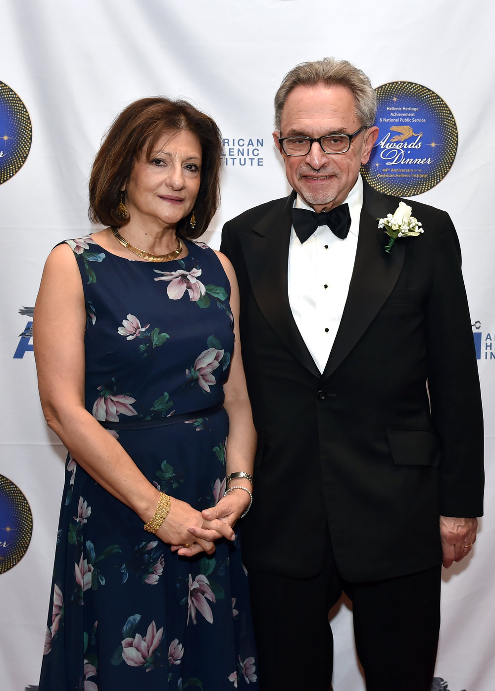 Ambassador Patrick Theros with his wife Aspasia Theros
