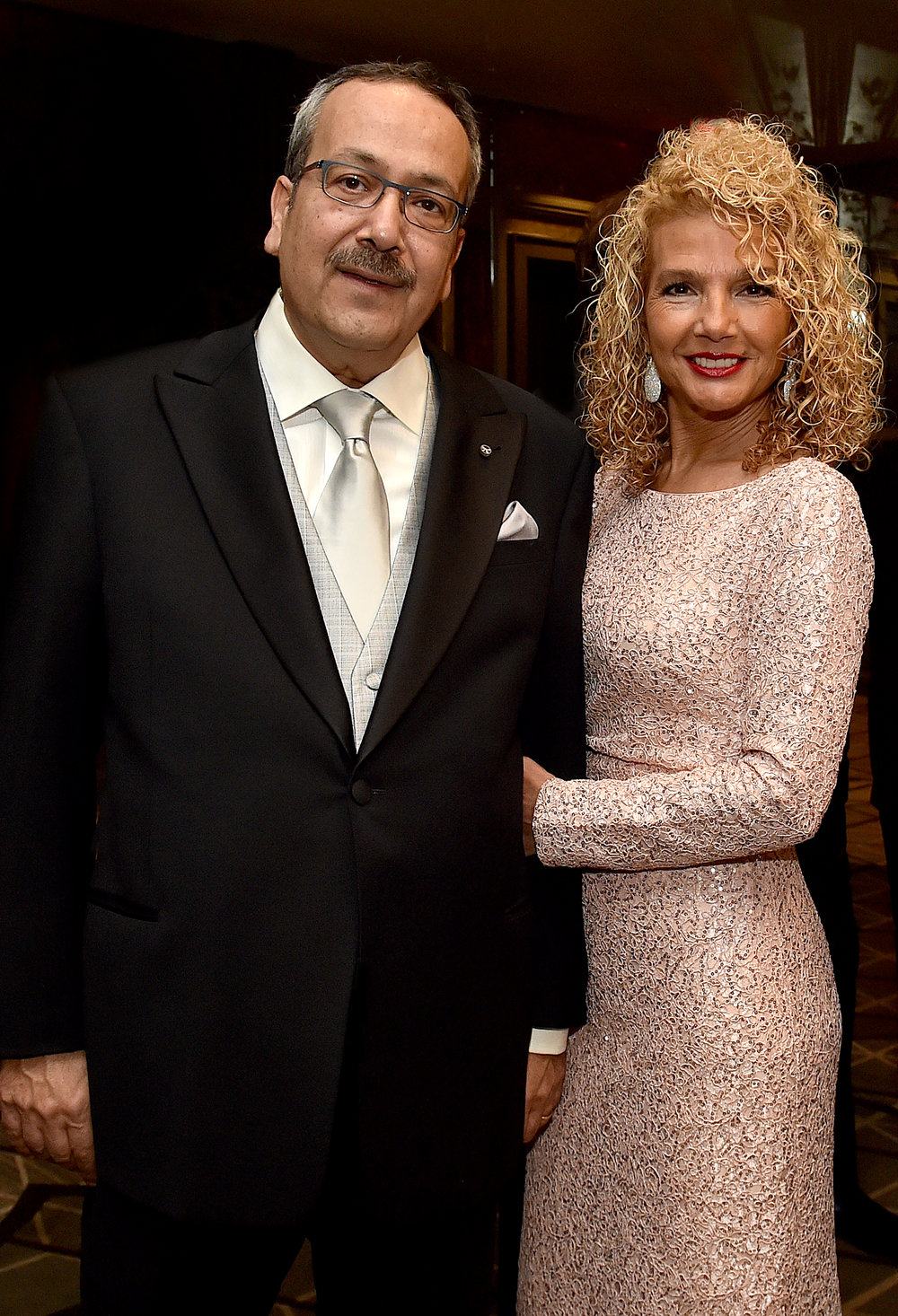 Dr. Spiro Spireas with his wife Dr. Emily Spireas