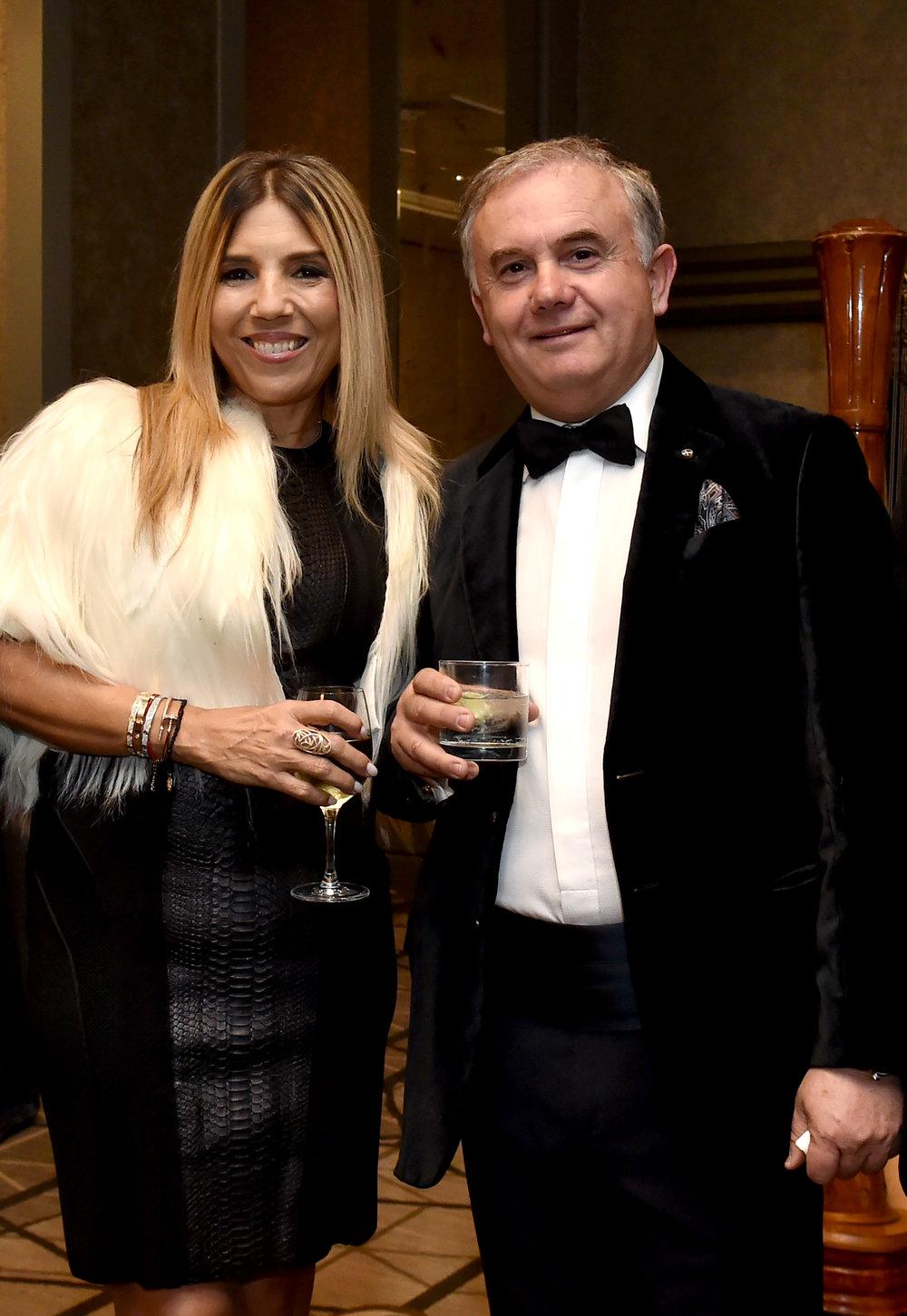 AHI Board Member Demitris Halakos with his wife Georgia