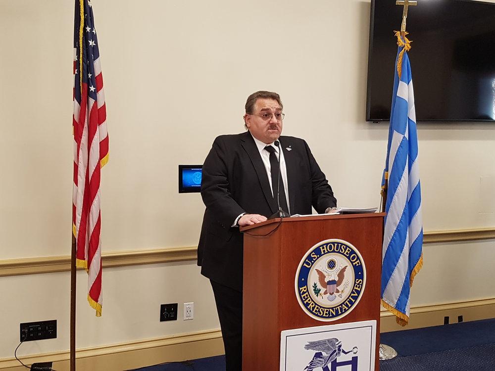 Basil N. Mossaidis, Executive Director, Order Of AHEPA