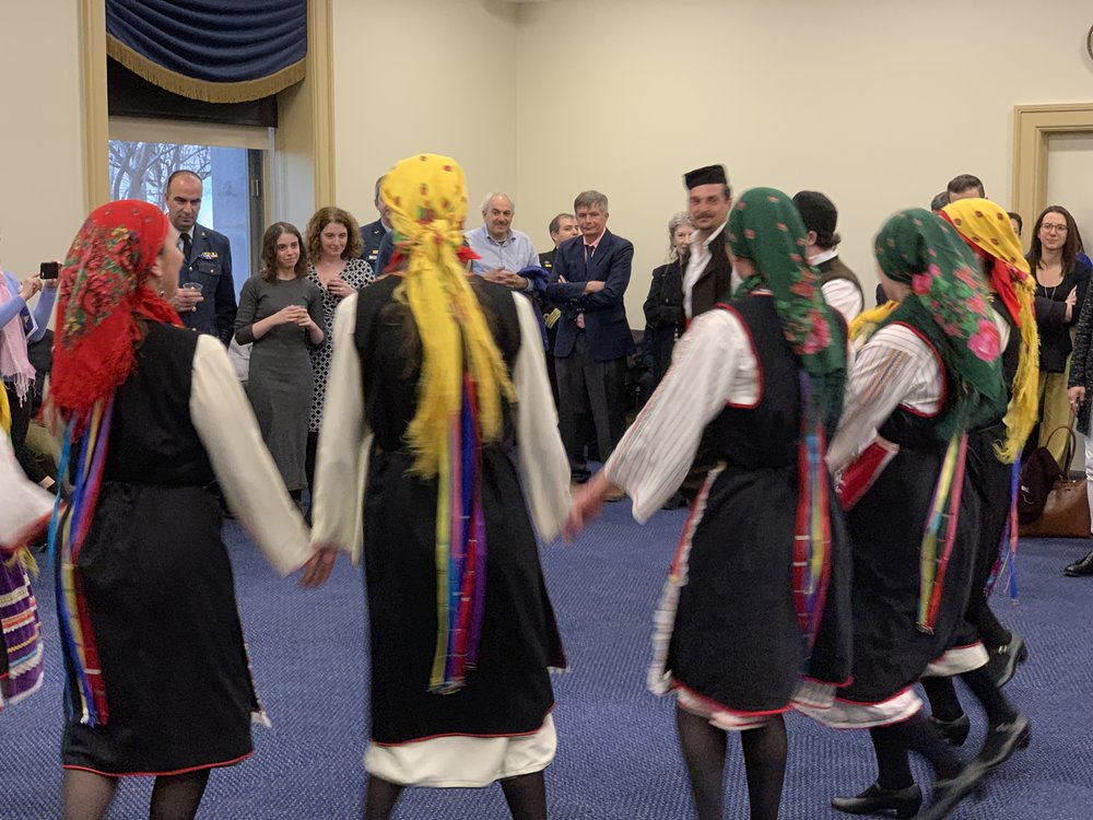 Traditional Greek Dances Performed By The Byzantio Greek Dance And Cultural Arts Program
