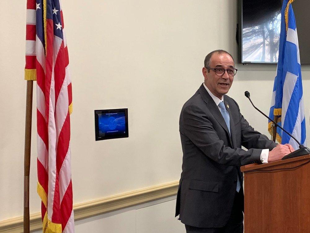Ambassador Marios Lysiotis, Ambassador Of Cyprus To The U.S.