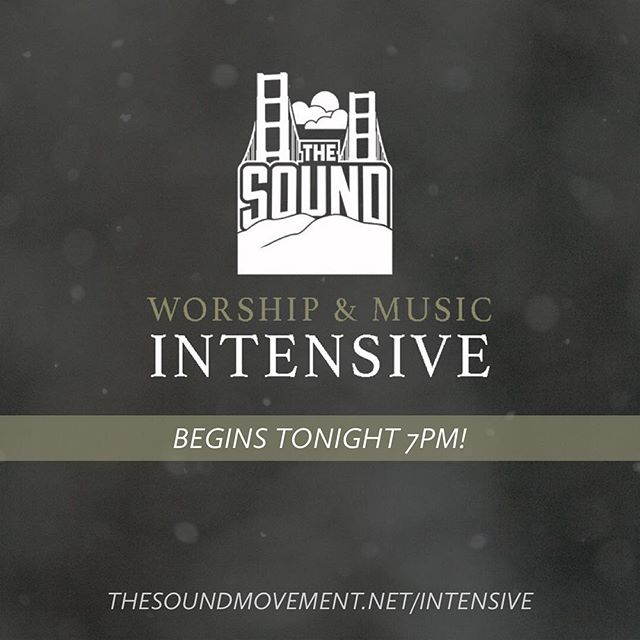 It's not too late to join! We're so excited for all God is going to do this weekend. We believe God is going to encounter people and impact lives. Begins tonight at Home of Peace at 7pm. See you here! Thesoundmovement.net/intensive #thesoundmvmt #thesoundintensive