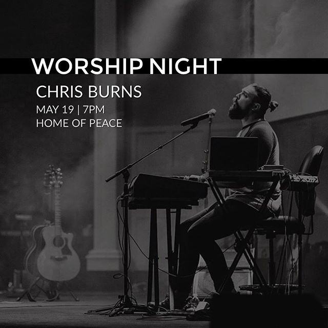 Join us tonight for worship night with Chris Burns. 7pm at Home of Peace free and open to the public. It's been an incredible past few days of worship, ministry and connection. We're stoked to go after the presence of God together tonight! #thesoundmvmt #thesoundintensive