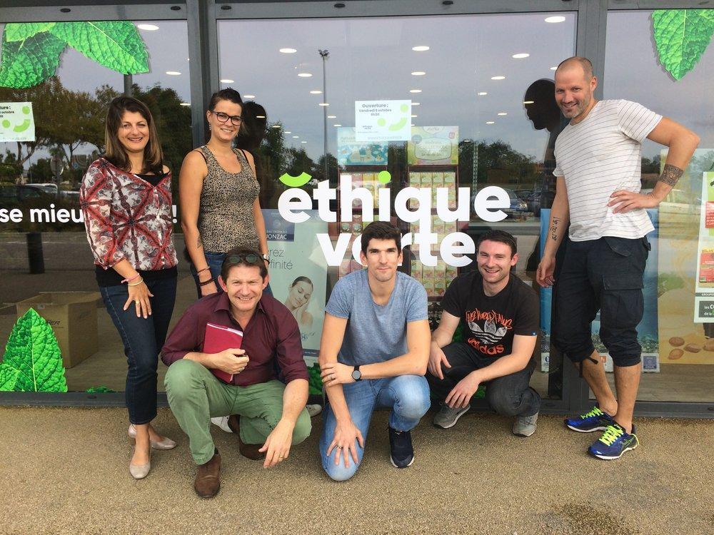nouveau magasin bio à Castelnaudary