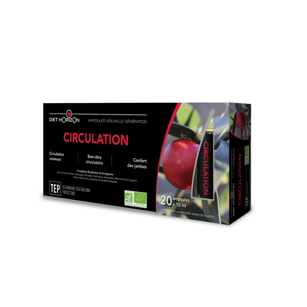 Ampoules Circulation - Diet Horizon