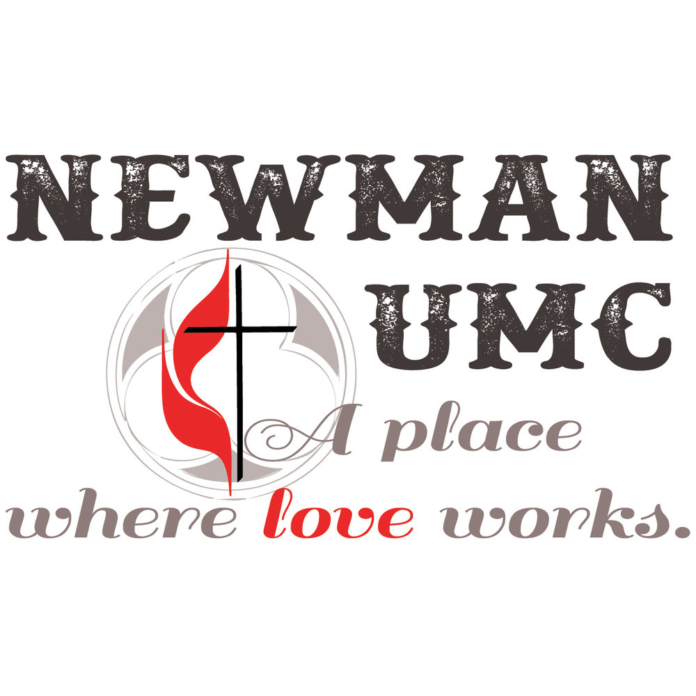 Brand management and graphic design for Newman United Methodist Church