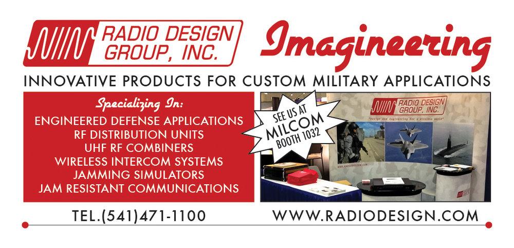 Advertisement for MILCOM