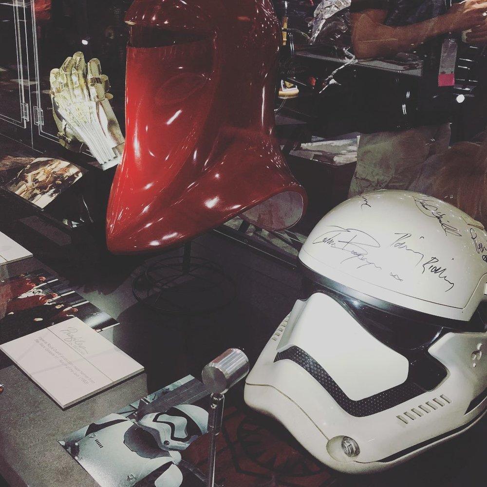 Genuine  Star Wars  costume pieces.