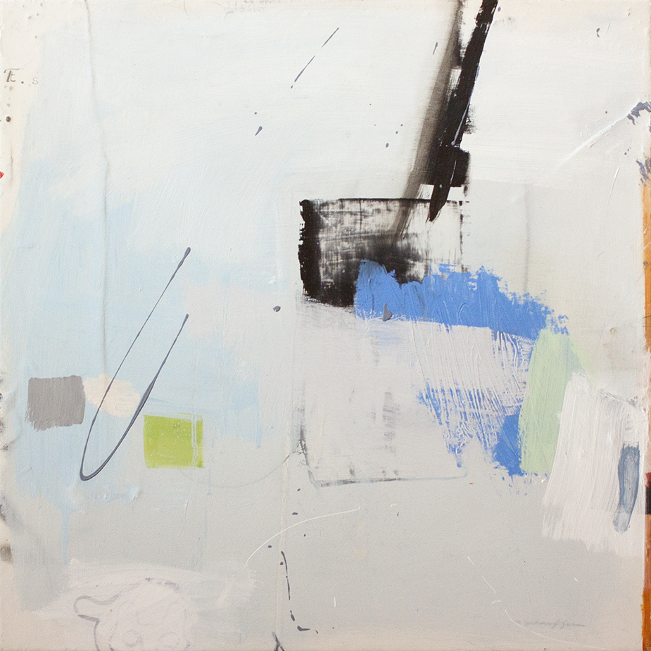"Fix Shun - 20"" x 20"" - mixed media on canvas"