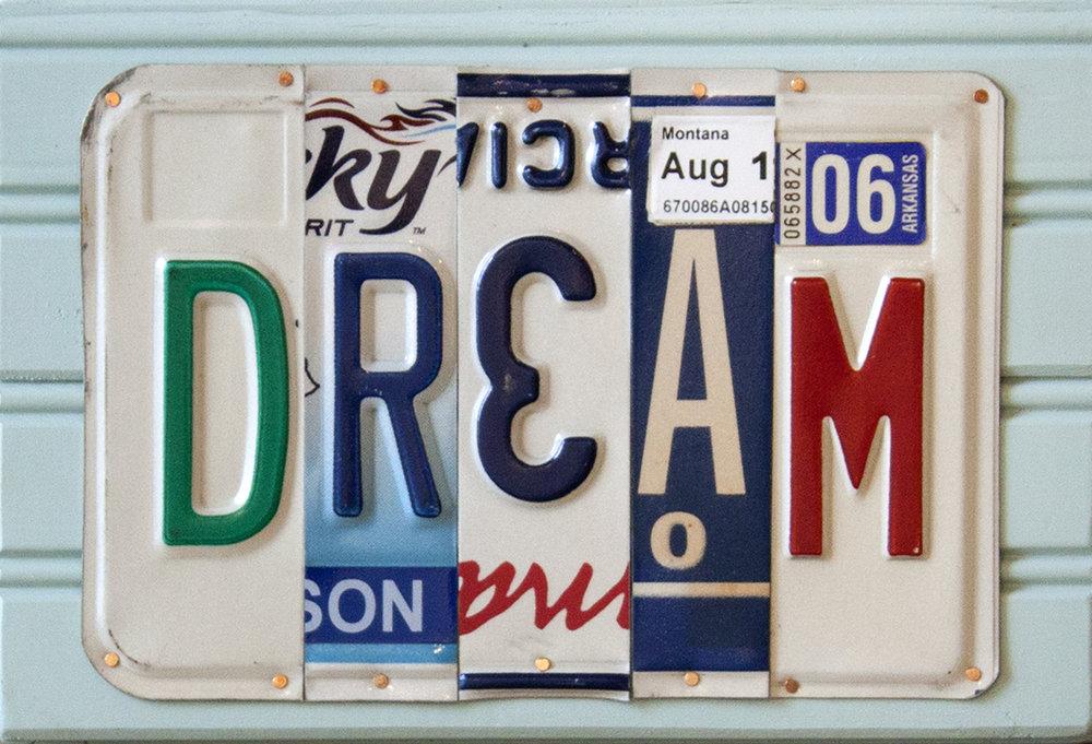 "Dream - 10 1/2"" x 7 1/4"""