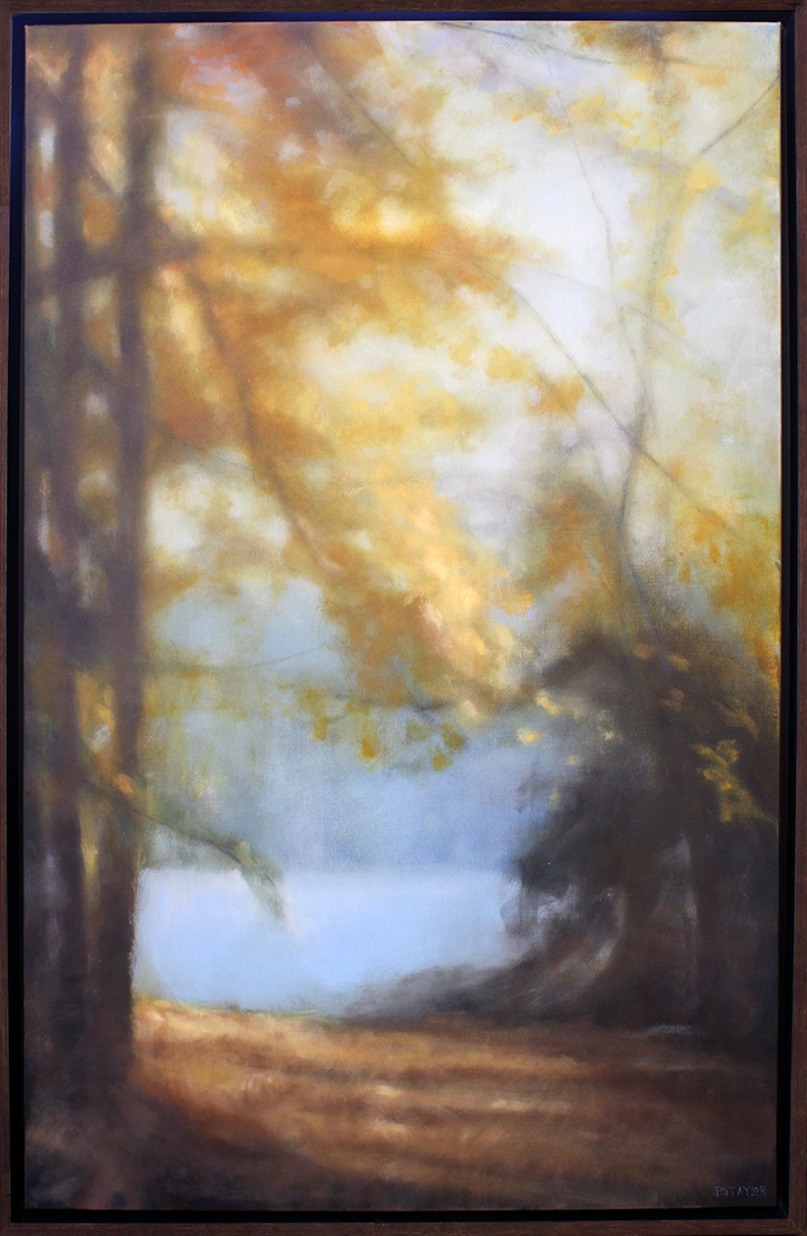 "River Fall - 30"" x 48"" - oil on canvas"