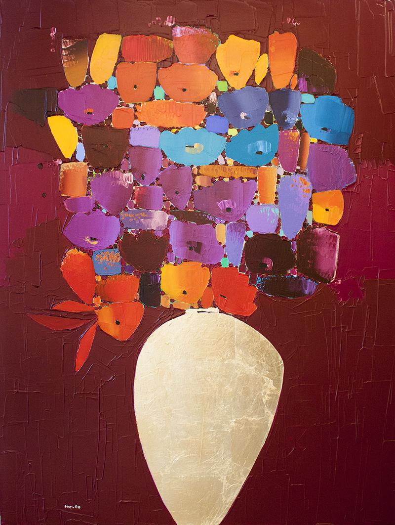 "Jewel - 36"" x 48"" - acrylic on canvas"