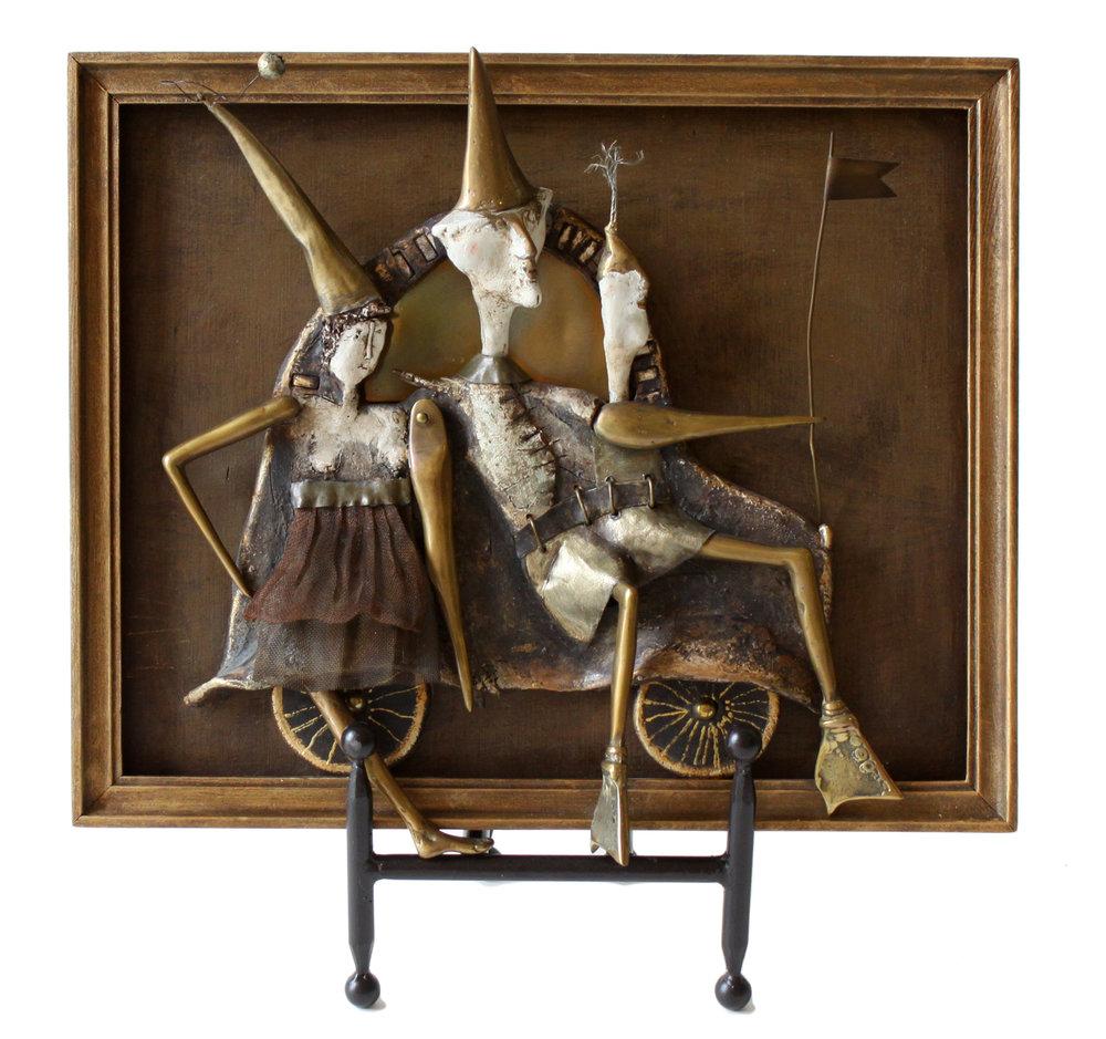 """Maria Wojtiuk - Joy Ride - 14 1/2"""" x 12 1/2"""""""