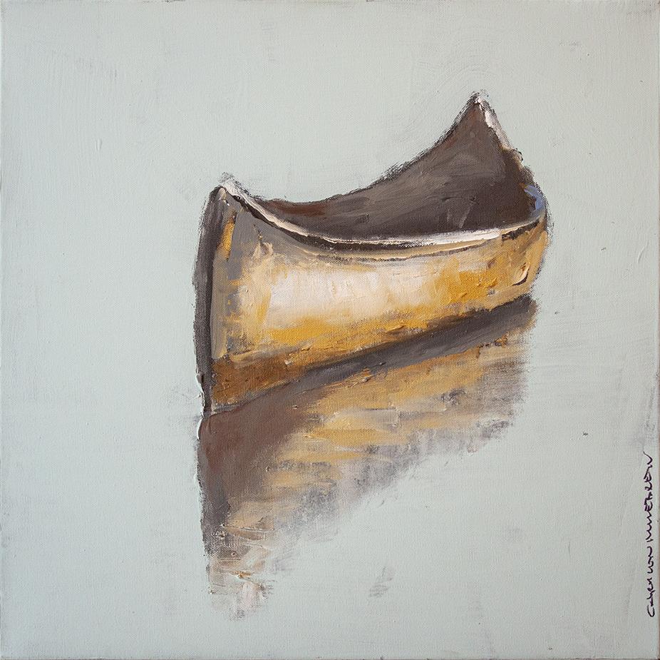 """SOLD I've Drifted Far, Far Away - 20"""" x 20"""" - oil on canvas"""